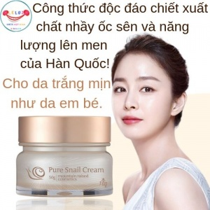 Kem Dưỡng Da Ốc Sên Guboncho Pure Snail Cream